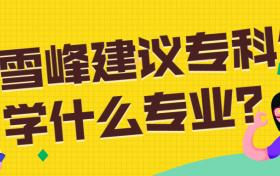 张雪峰建议专科生学什么专业?专科就业率较高的专业有哪些?